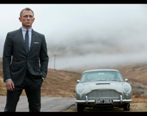 James Bond et la DB5, un petit air de nostalgie