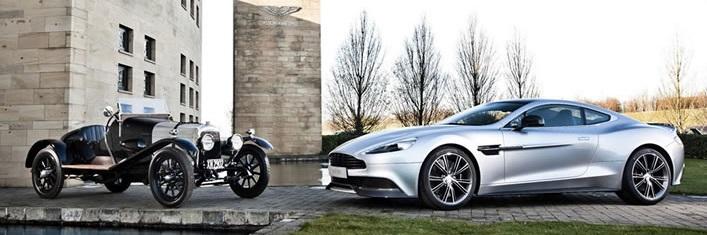 Aston Martin fête ses 100 ans! Rétrospective de l'évolution de la marque