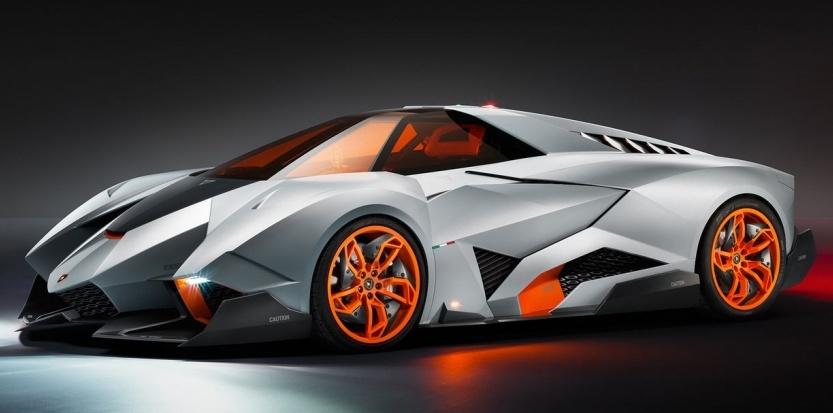 Lamborghini fête ses 50 ans avec le prototype Egoista