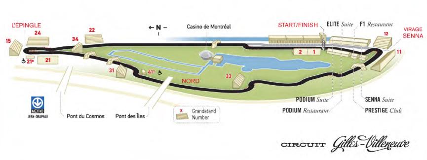 Grande fête de la F1 à Montréal