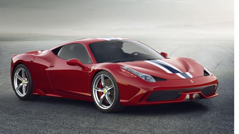 La F 458 Speciale, une Ferrari très spéciale