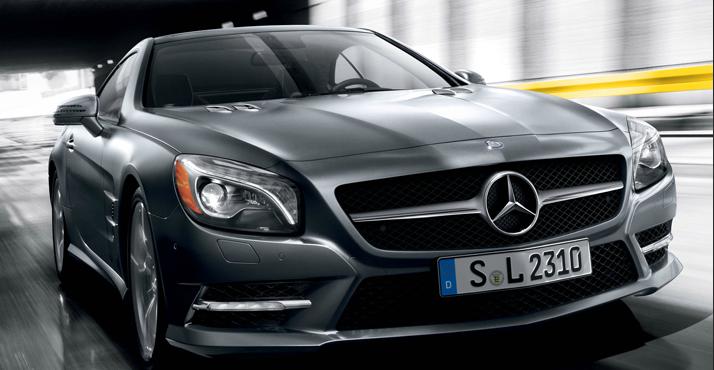 La Mercedes-Benz Classe SL ou l'élégance incarnée