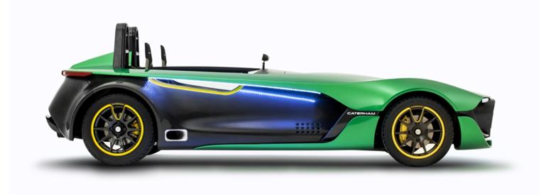 Caterham AeroSeven Concept dévoilé à Singapour