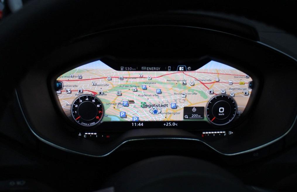Audi introduit le cockpit virtuel