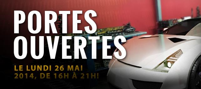 L'École de l'Automobile vous ouvre ses portes: lundi le 26 mai 2014