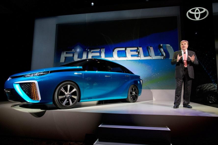 Toyota : la pile à combustible plutôt que 100 % électrique