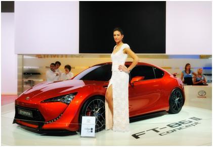 Une voiture provocante : la Toyota FT-1