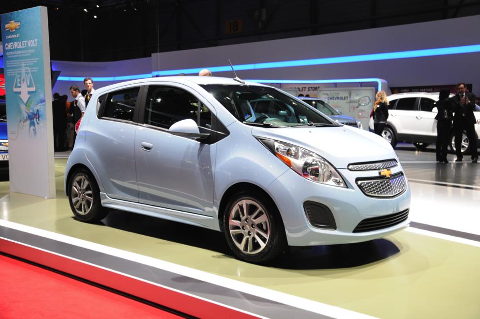 Chevrolet Spark EV en vente au détail au Canada dès l'automne 2015
