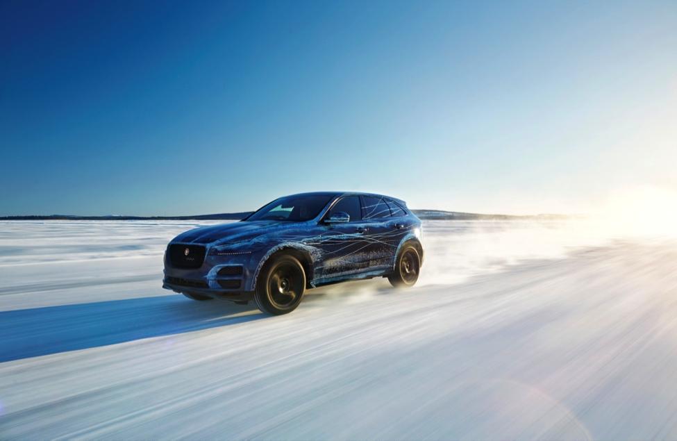 Étudiants de l'École Auto, découvrez le Jaguar F-Pace