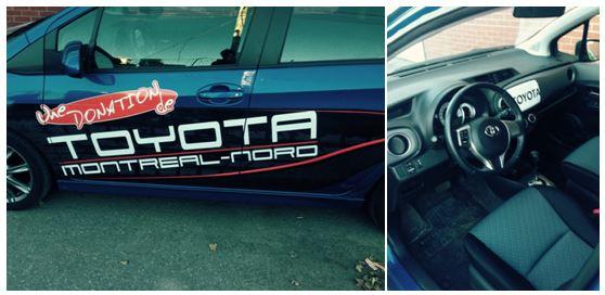 Donation Toyota Montréal-Nord