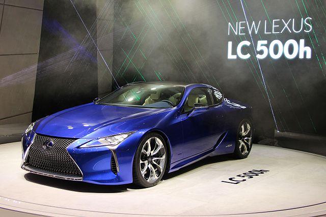 Passionnés de mécanique auto, découvrez la future LC 500h de Lexus