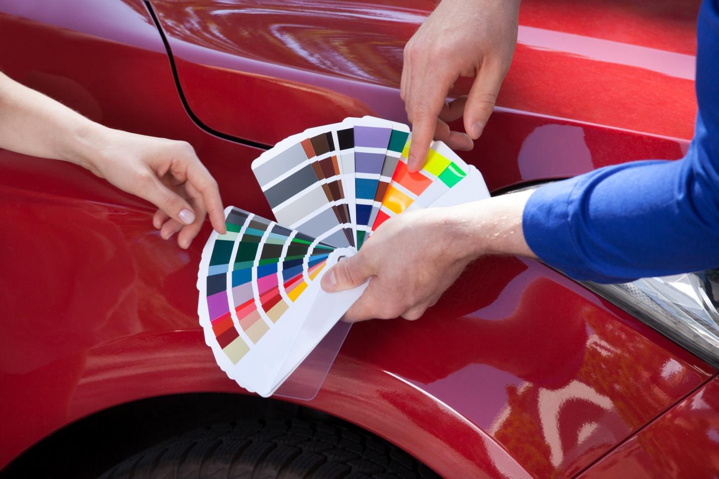 Introduction au contretypage pour les étudiants en formation de conseiller en carrosserie