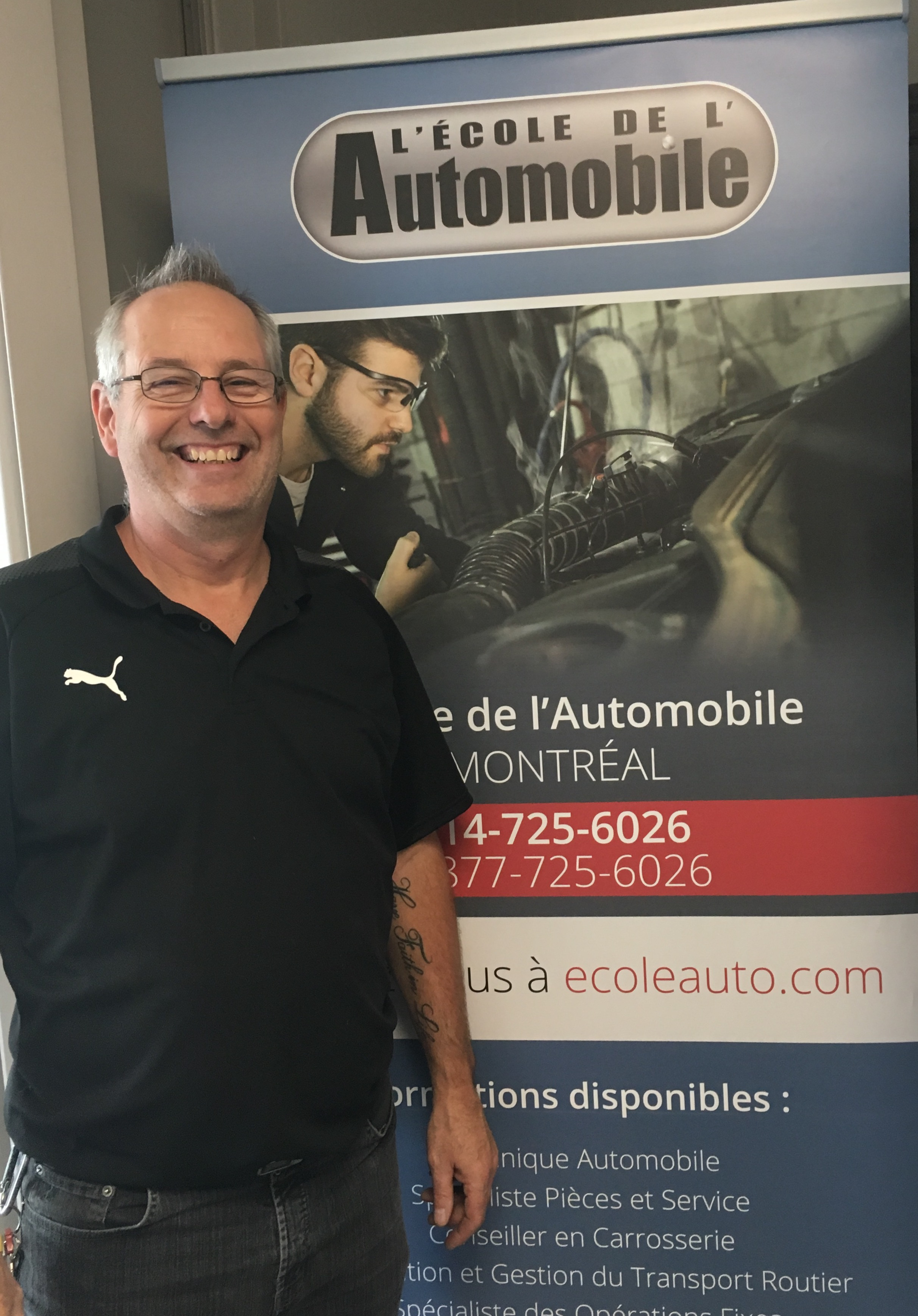 Lumière sur les instructeurs de L'École de L'Automobile: entrevue avec Paul Baribeau