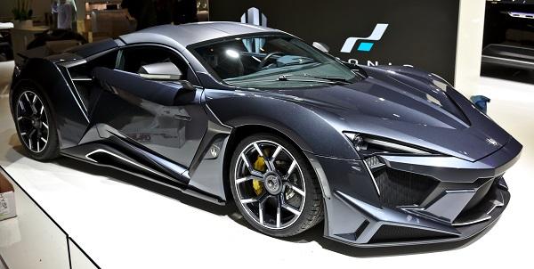 Le concept Fenyr Supersport présenté à Genève.