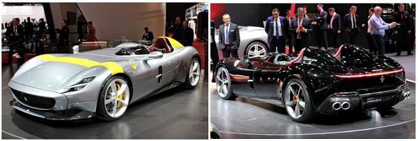 À la découverte des nouvelles Monza SP1 et SP2 de Ferrari