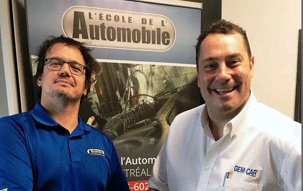 Nouveau partenariat entre GEM-CAR et L'École de L'Automobile : tout ce qu'il faut savoir