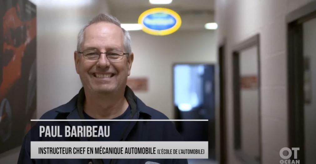 Paul Baribeau nous parle de son parcours et des particularités du programme de mécanique auto de L'École de L'Automobile