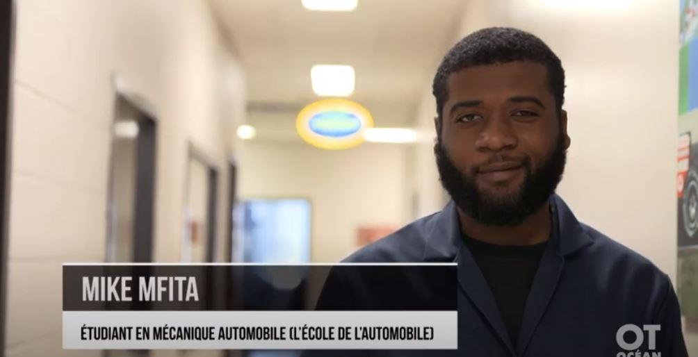 Découvrez pourquoi Mike Mfita, étudiant en mécanique automobile, a choisi L'École de L'Automobile pour lancer sa carrière