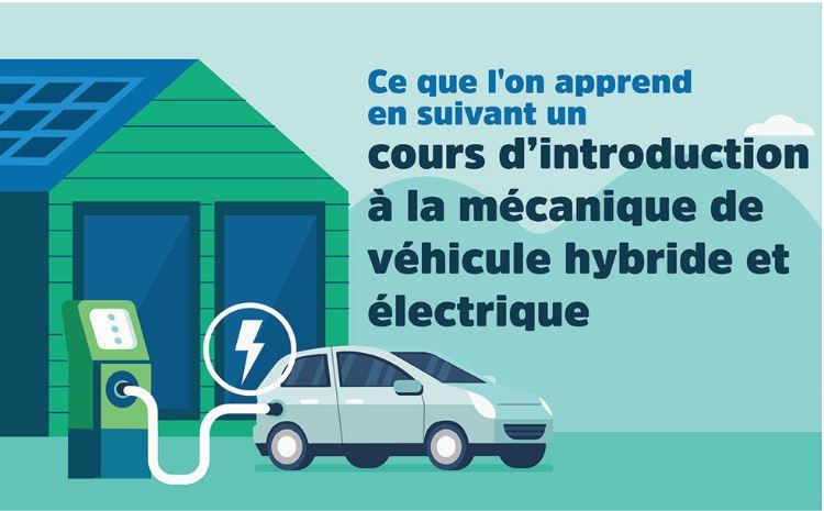 Ce que l'on apprend en suivant un Cours d'introduction à la mécanique de véhicule hybride et électrique
